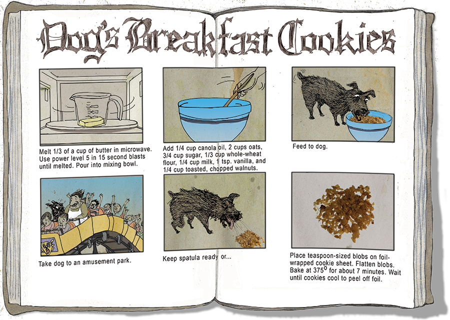 Dogs Breakfast Cookies